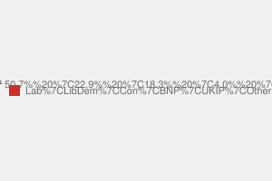 2010 General Election result in Tyneside North